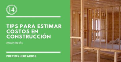 Costos en construcción