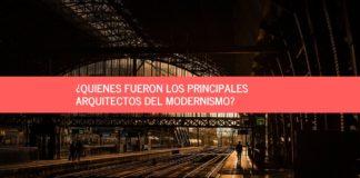 arquitectos del modernismo