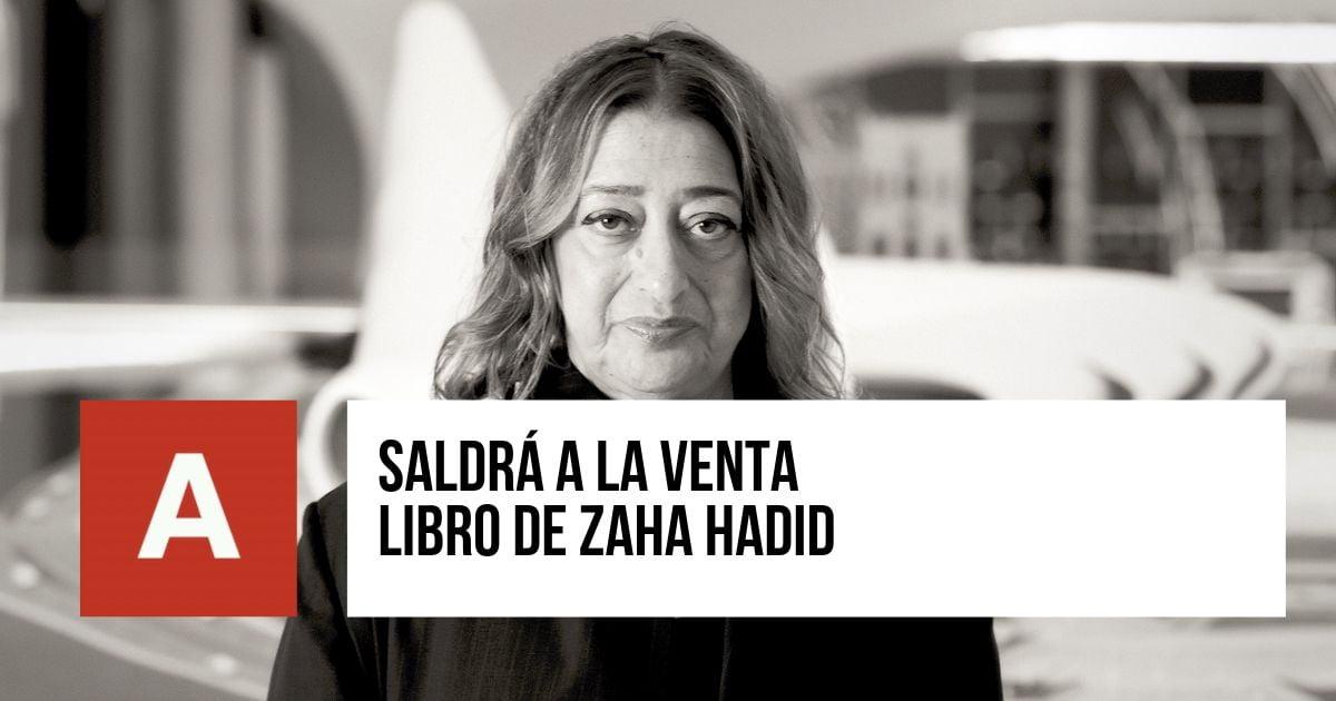 Libro de Zaha Hadid