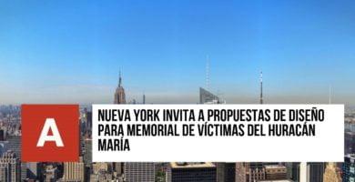 Memorial de víctimas del Huracán María