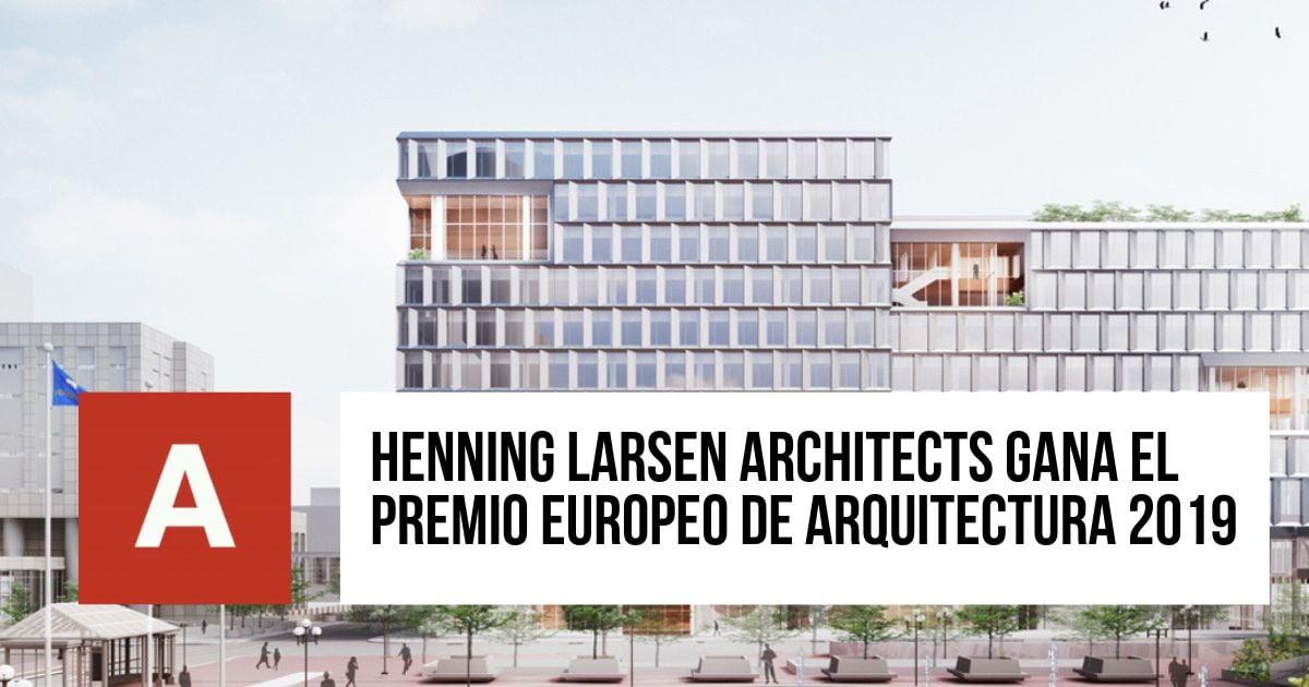 Premio Europeo de Arquitectura 2019