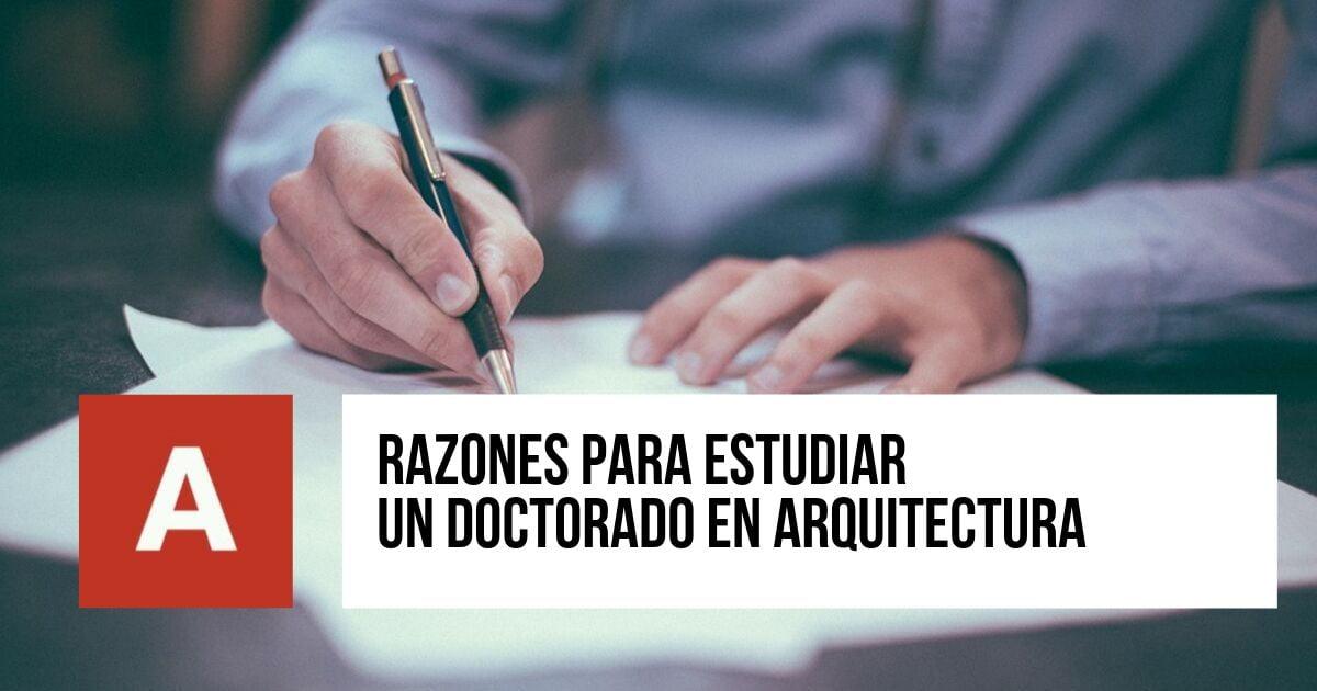 Doctorado en Arquitectura