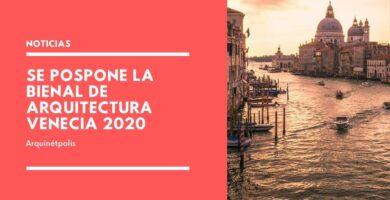 Bienal de Arquitectura Venecia 2020